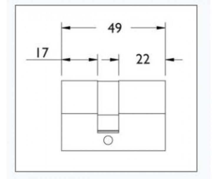 Profilzylinder mit 3 Schlüsseln, Bild 2