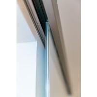 Schiebetür-System Alu mit Softclose 2000mm