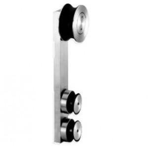 Laufwagen eckig | Glasstärke 10-12 mm