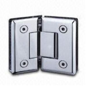 Scharnier Verbindung | Glas-Glas 135° | Hochglanz | R/L Anschlag