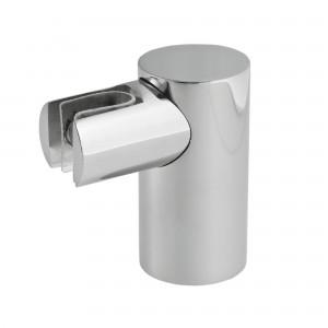 Glasklemme variabel für Rohr 20 mm | Hochglanz