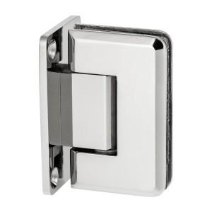 Scharnier Verbindung | Glas-Wand 90° | Hochglanz | R/L Anschlag