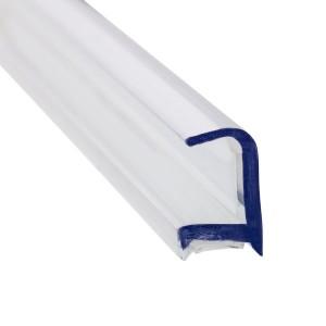 Glas Verbindungsprofil 90° PET-12 mm - 3 m - klar