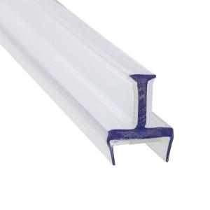 Glas Verbindungsprofil 3 Wege PET 12-12,76 mm - 3 m - Klar
