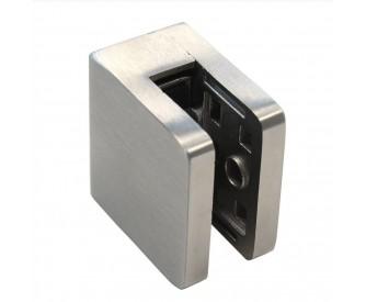 Glashalter gerader Abschluss 6-12,76 mm, eckig