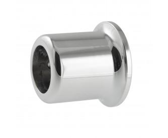 Wandmuffe 90° | Durchmesser 20 mm | Hochglanz