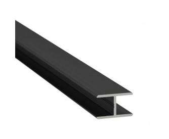 H-Profil Aluminium 13,52 mm - Anthrazit