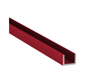U-Profil-Alu 8 mm - individuelle Farbe