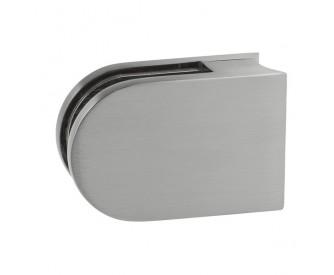 Glashalter für Rundpfosten 6-12,76 mm, rund