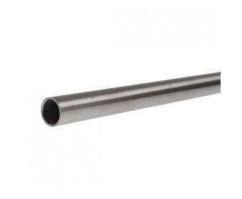 Stabilisationsstange rund, Durchmesser 20 mm, Länge 1000 mm - Matt gebürstet