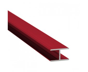 H-Profil Aluminium 13,52 mm - individuelle Farbe