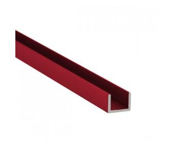 U-Profil-Alu 10 mm - individuelle Farbe