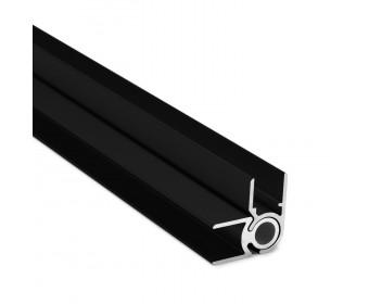 Flex-Eck-H-Profil-92°-142° 10 mm - Schwarz
