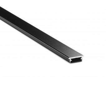 Kantenschutz Profil universell 12 -17,52 mm - Schwarz