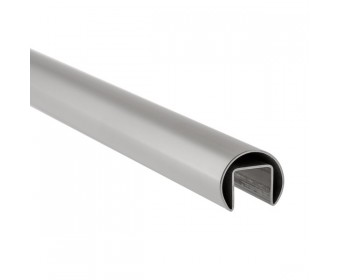 Handlauf hohlwandig 21,52 mm, rund - Edelstahl