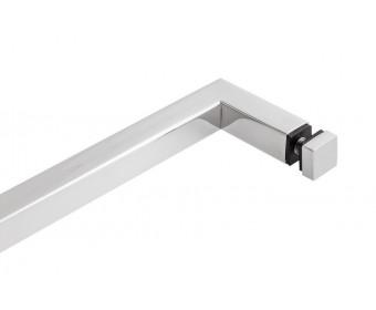 Handtuchhalter Glasdusche | 500 mm | Hochglanz