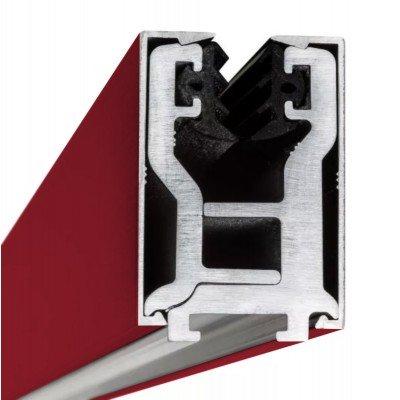 Glas-Klemmprofil  17,52 mm - Individuelle Farbe