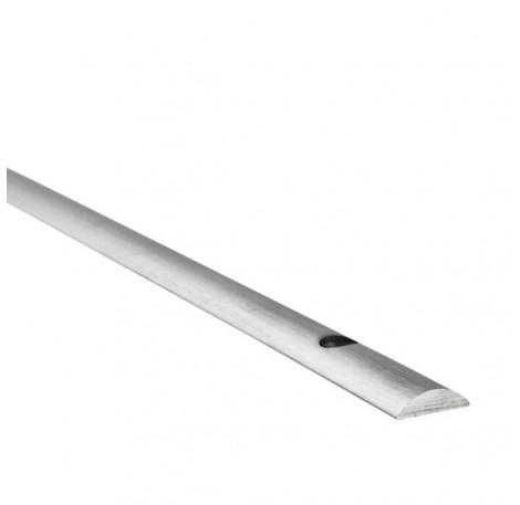 Konvex gewölbte Bodenschiene - 4 m lang