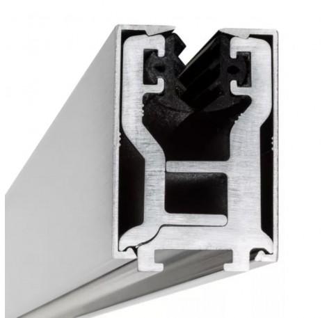 Glas-Klemmprofil 12 - 12,76 mm - Pressblank