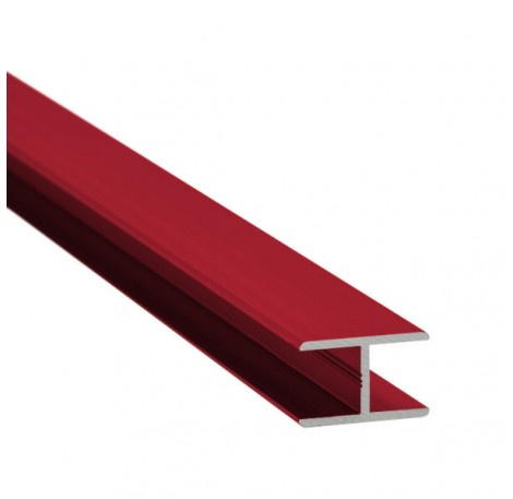 H-Profil Aluminium 17,52 mm - individuelle Farbe
