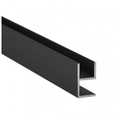 E-Profil-Alu 8 mm - Anthrazit