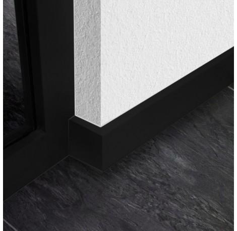 Sockelleisten Set 6000 mm - Schwarz