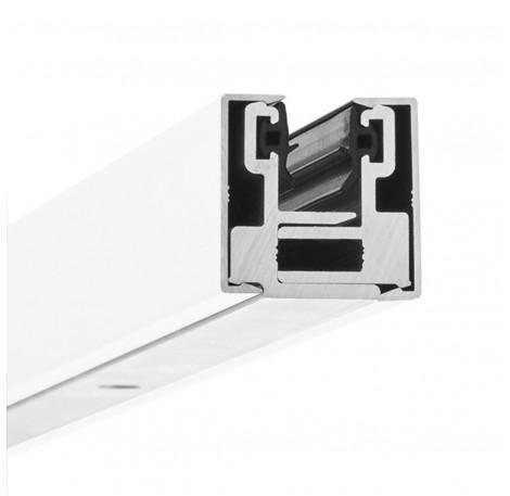 Glas-Klemmprofil MINI 8 - 8,76  mm - Weiss