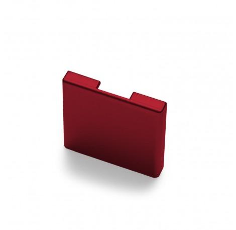 Endkappe für Glas-Klemmprofil MINI 8 - 8,76 mm - Individuelle Farbe