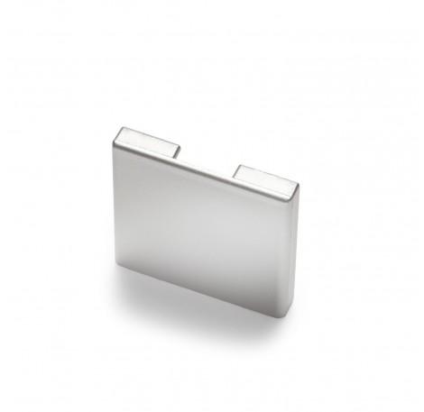 Endkappe für Glas-Klemmprofil MINI 8 - 8,76 mm - Hochglanz