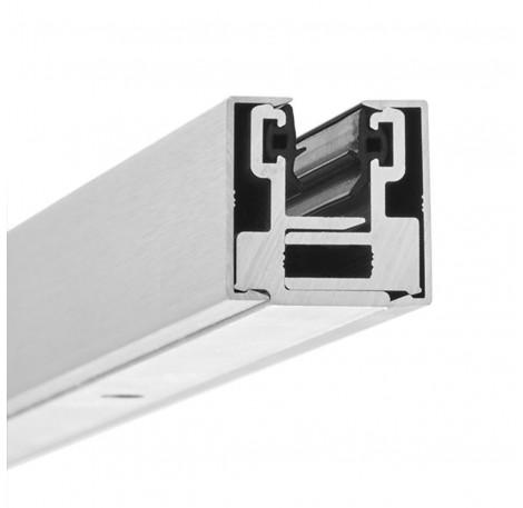 Glas-Klemmprofil MINI 10 - 10,76  mm - Pressblank