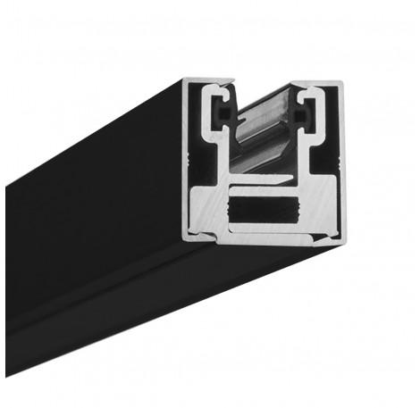 Endstück Glasklemmprofil MINI 10 - 10,76 mm - Schwarz