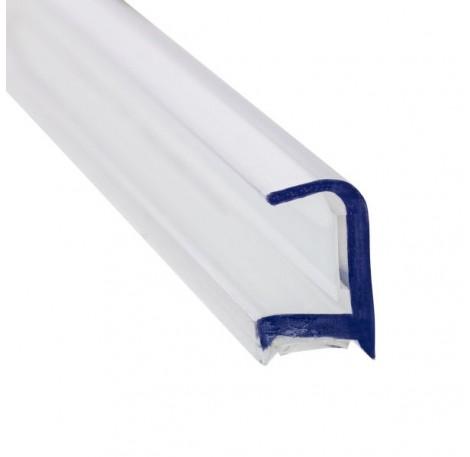 Glas Verbindungsprofil 90° PET 10 mm - 3 m - klar