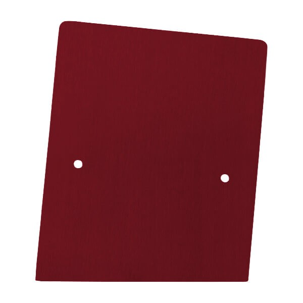 Frontalansicht der rechte Endkappe in individueller Farbe