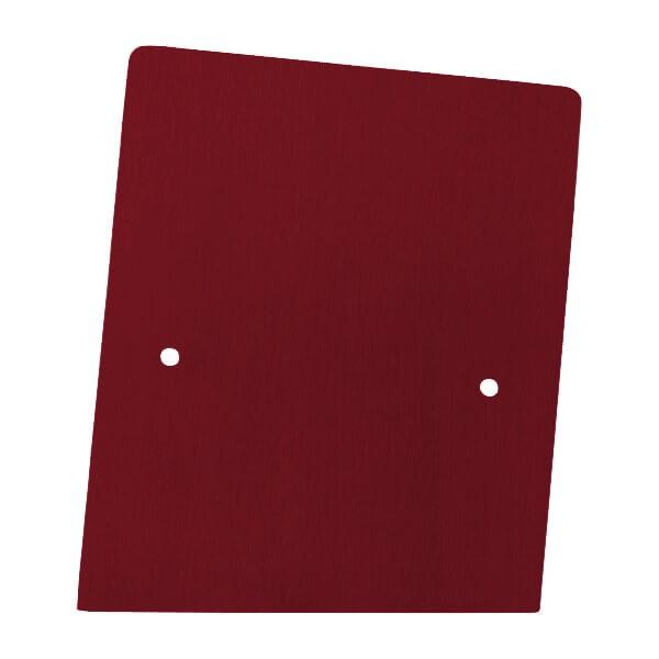 Endkappe rechts aus Edelstahl in individueller Farbe