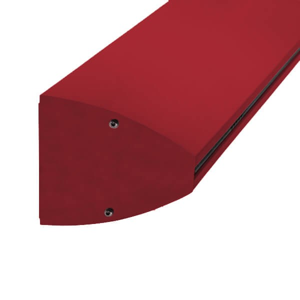 Wandklemmprofil 0° 17,52 mm, oval - Individuelle Farbe
