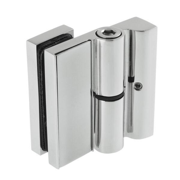 Scharnier-Verbindung Glas-Wand 90° 1100A-11HGR - Angular