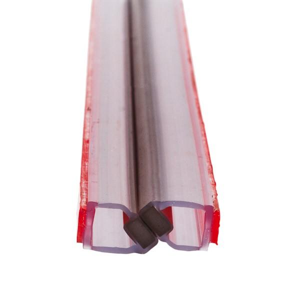 Magnetdichtung 180° für 8 mm Glas, selbstklebend