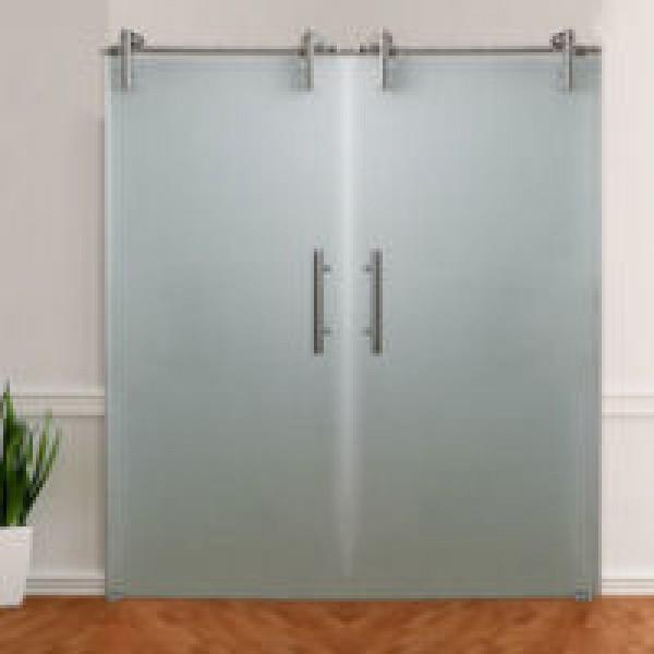 Schiebetür-Beschläge für 2-flügelige Tür