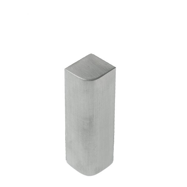 Eckverbinder Serie Angular | Glas-Glas 90° | matt
