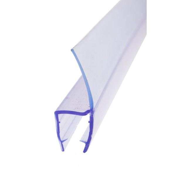 Dichtlippe für Wandanschluss eines Glas Vordaches