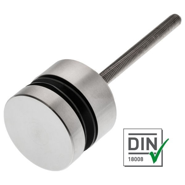 Punkthalter Ø 70 mm für Brüstungen V4A nach DIN18008