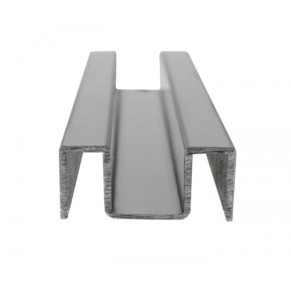 U-Profil für Glasstärke 10 mm