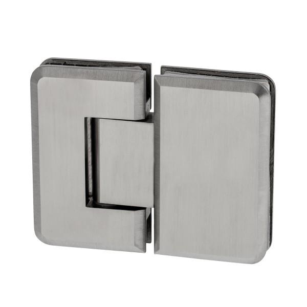 Glasscharnier-Verbindung für 180° Öffnung