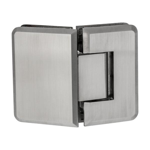 Glas-Scharnier mit 135° Öffnungswinkel