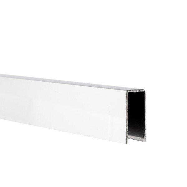 U-Profil innen 8,5 mm | Hochglanz | 2,5 m