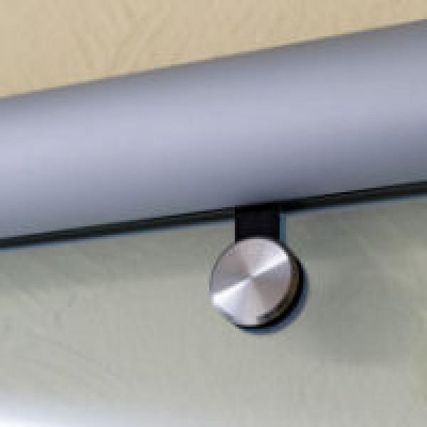Aluminium Beschlag für Schiebetür aus Glas