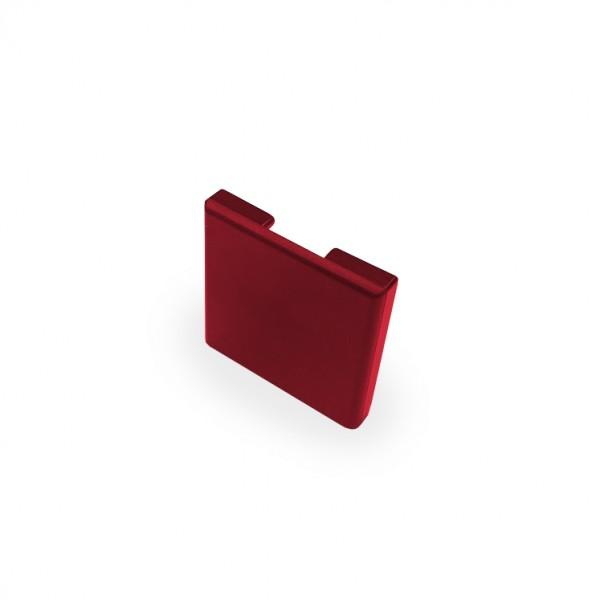 Endkappe für Glastrennwandprofil Mini 10 mm roh