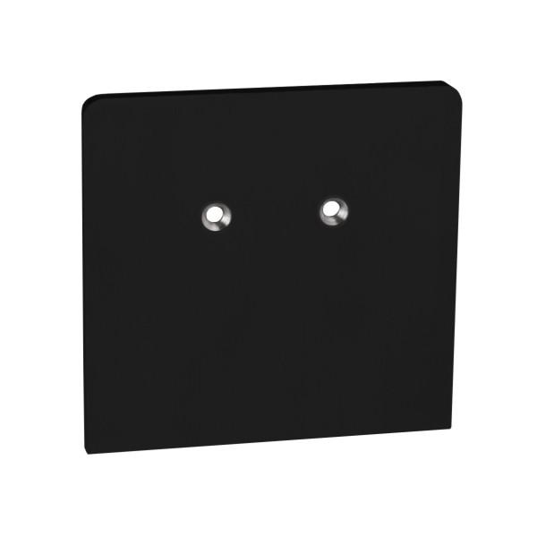 Passende Endkappe für einen schönen Profilabschluss der Brüstung