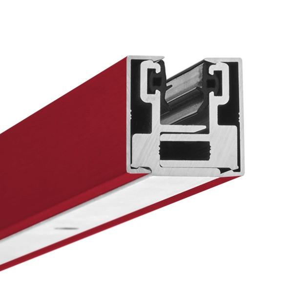 Filigranes fertig konfektioniertes Klemmprofil-Set - individuell beschichtet / lackiert