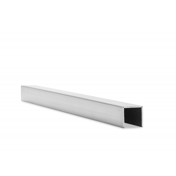 Kantenschutz U-Profil eckig für 17,52 mm Glas